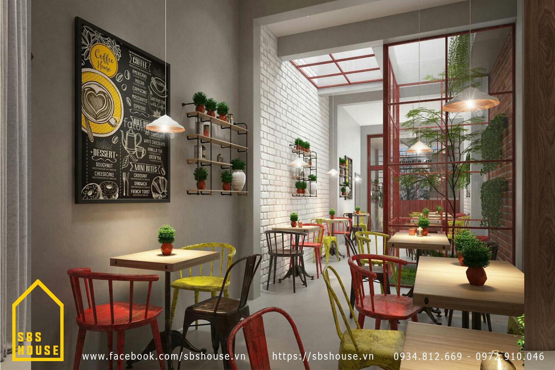 thiết kế quán cafe nhỏ giá rẻ