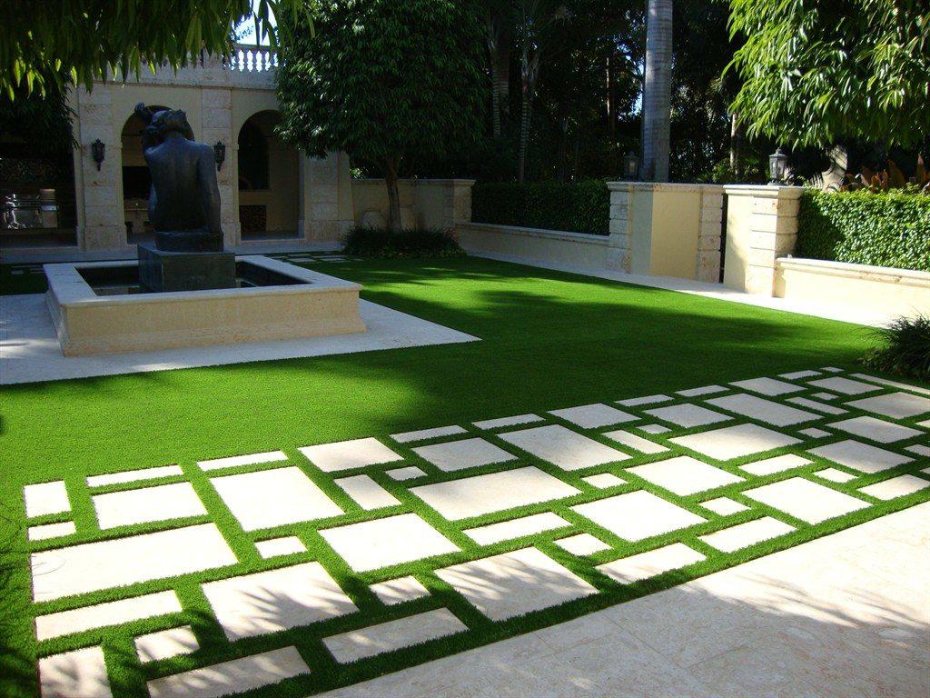 thảm cỏ nhân tạo