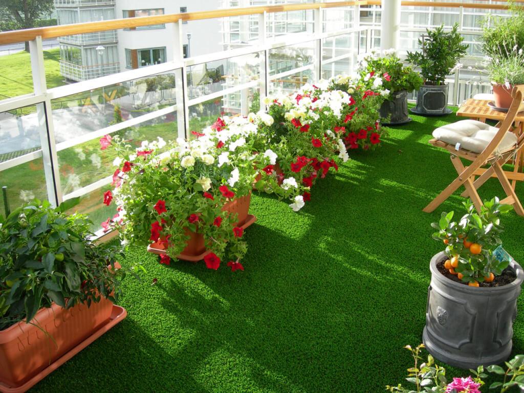 thảm cỏ trải sàn