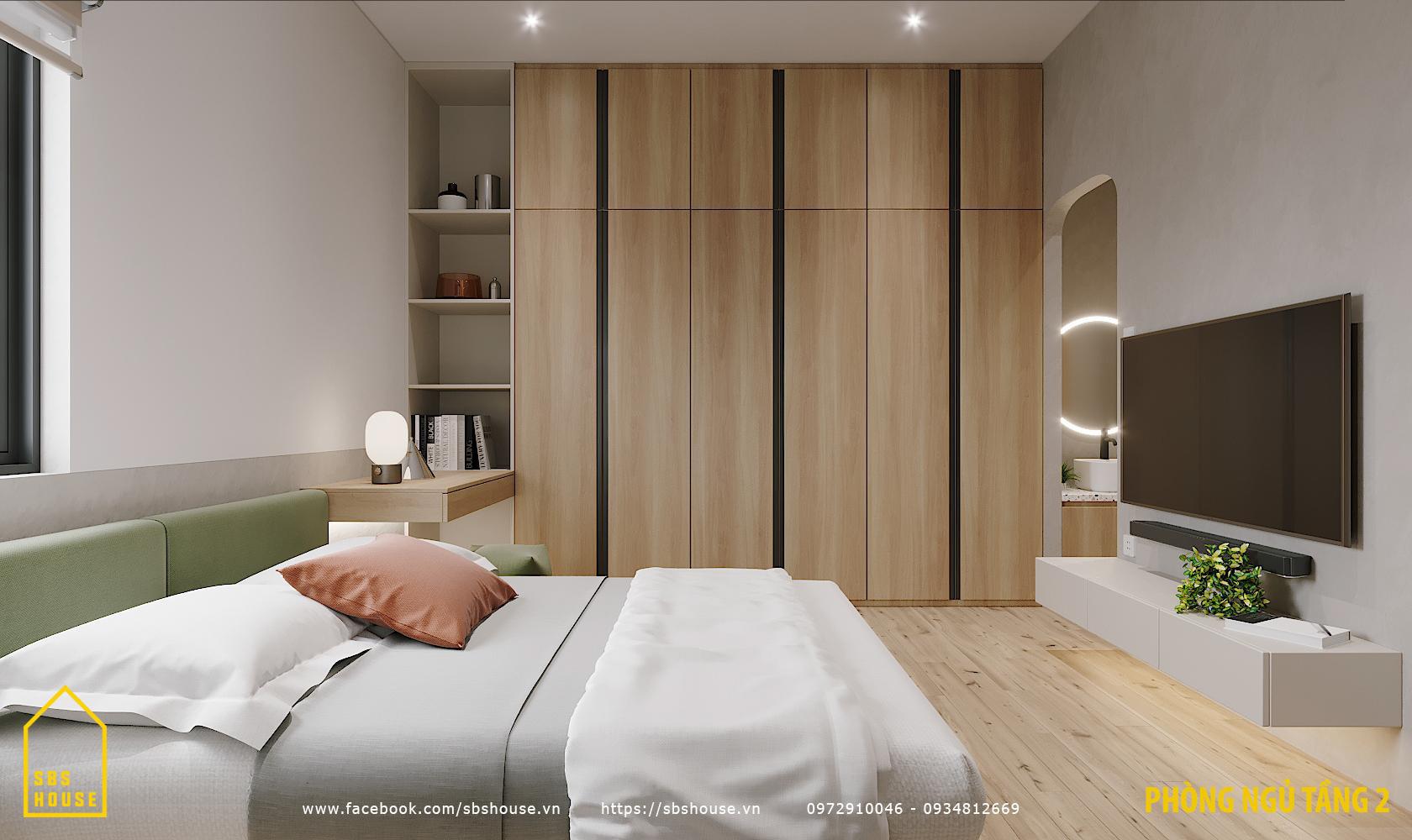 bố trí phòng ngủ