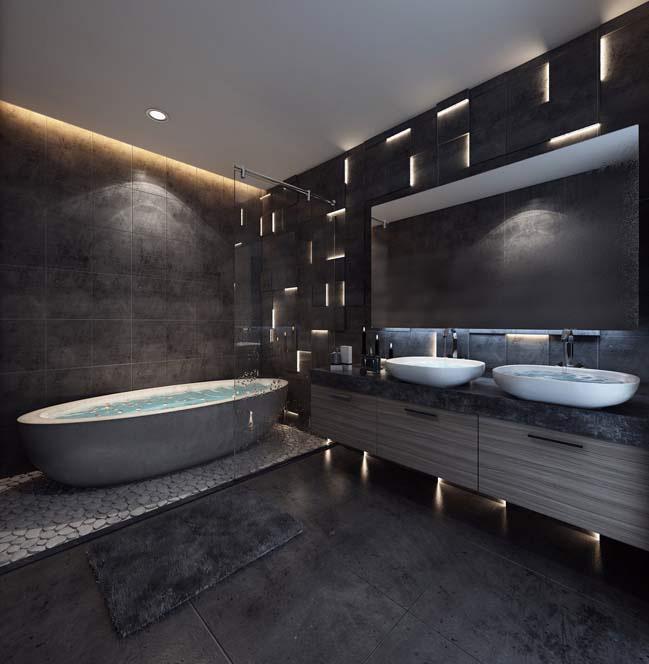 nhà tắm sang trọng