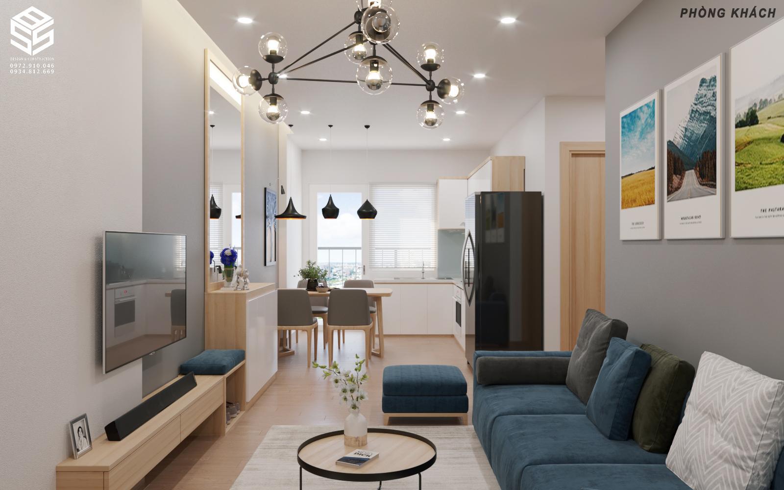 decor phòng khách chung cư