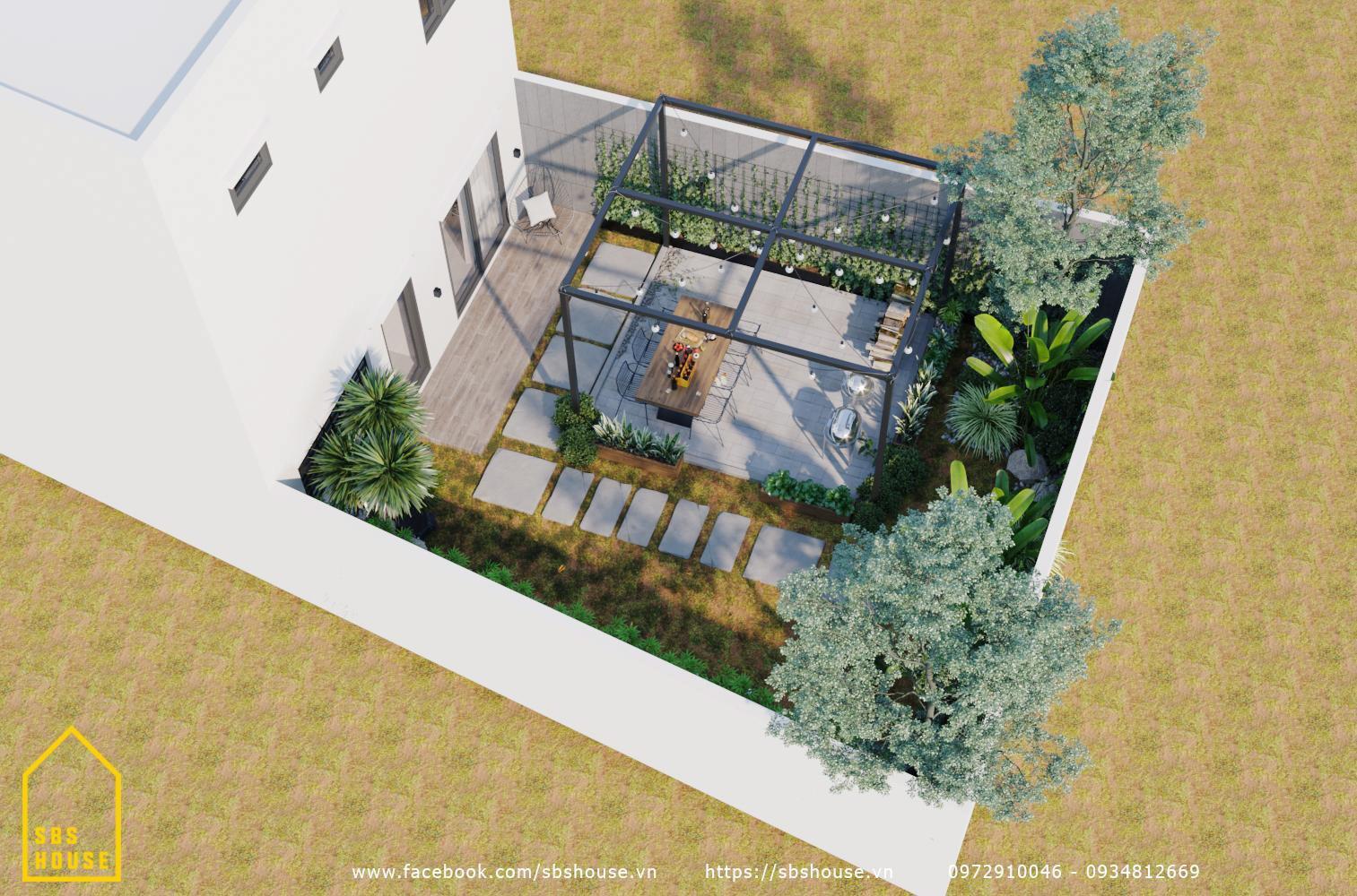 vườn nhà
