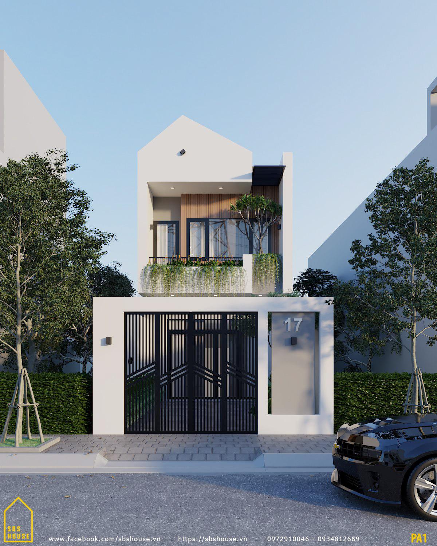 nhà 2 tầng đẹp