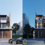 Nhà 3 tầng 5×20 m