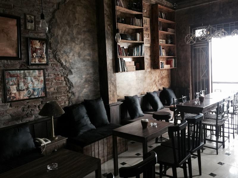 thiết kế thi công quán cafe vintage đà nẵng