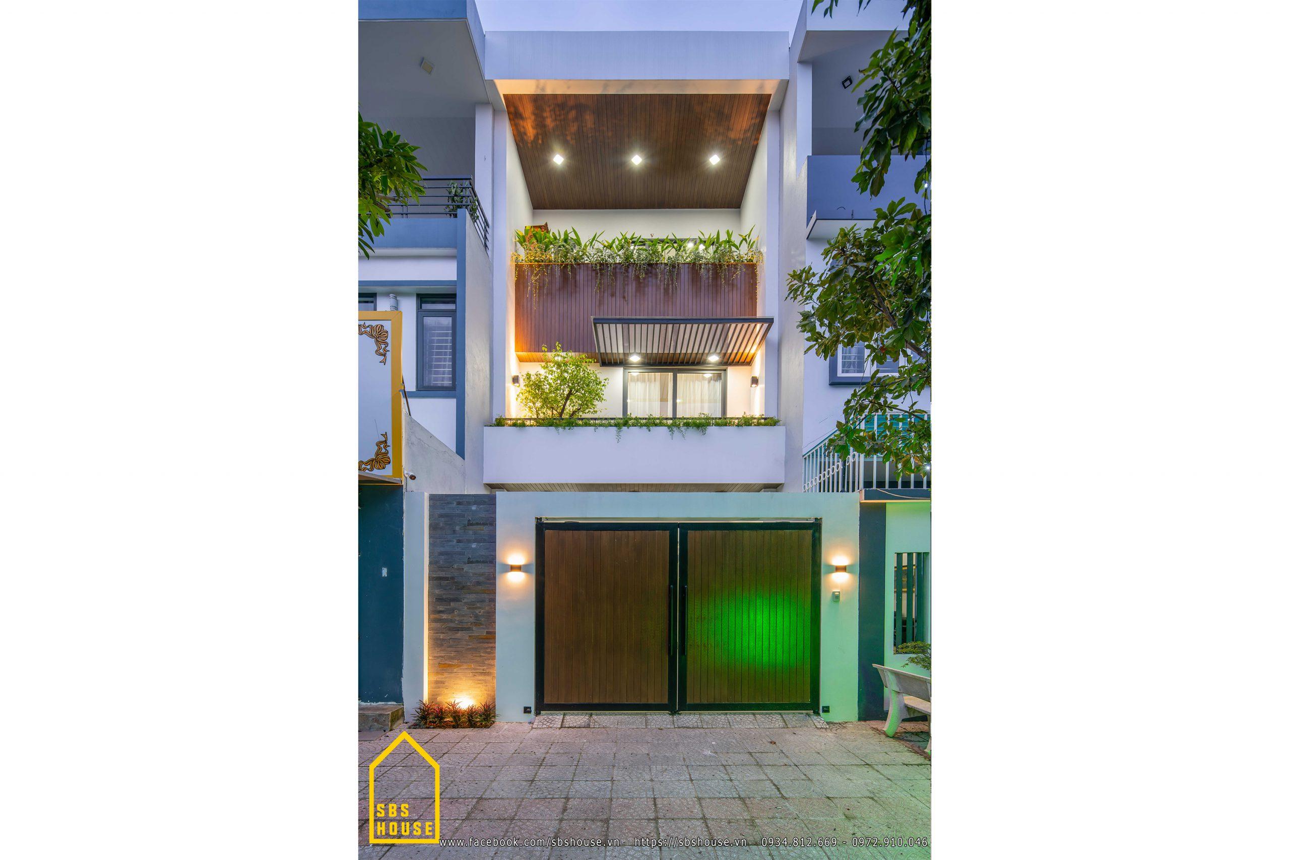 mẫu nhà 3 tầng đẹp tại đà nẵng