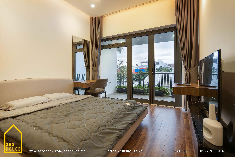 Hình ảnh thực tế phòng ngủ master đẹp