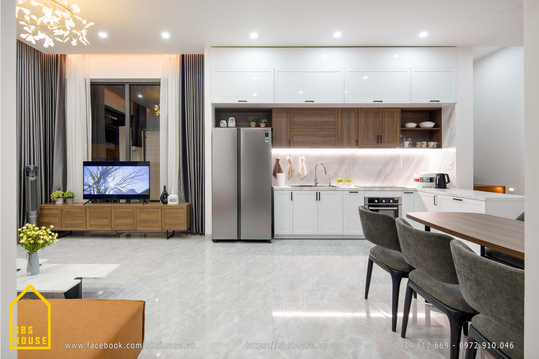 Hình ảnh thực tế phòng bếp hiện đại