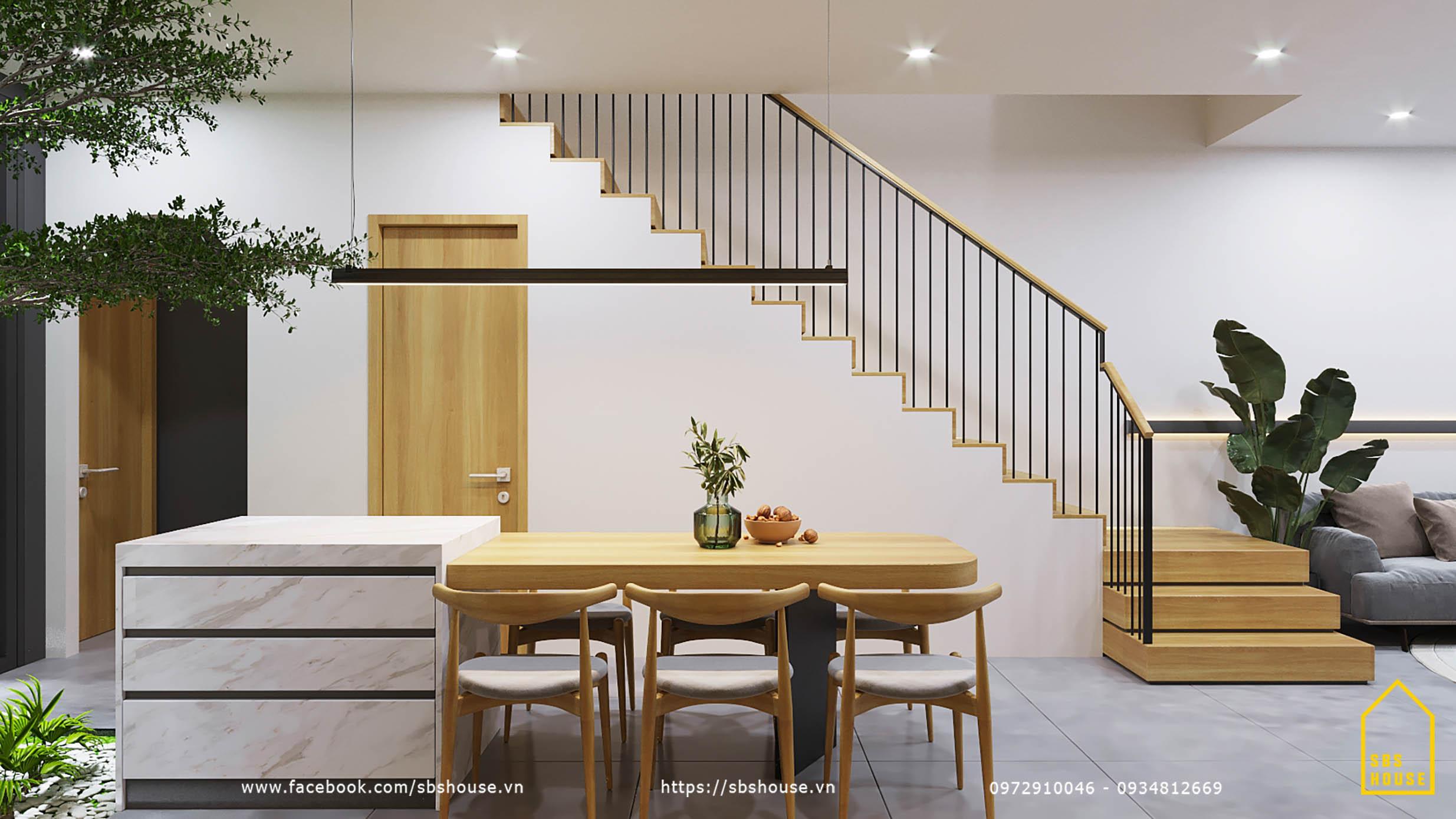 Mẫu phòng bếp bằng gỗ đẹp