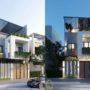 Nhà phố 2 tầng 1 tum 6,5x17m hoá BIỆT THỰ nhờ thiết kế hiện đại