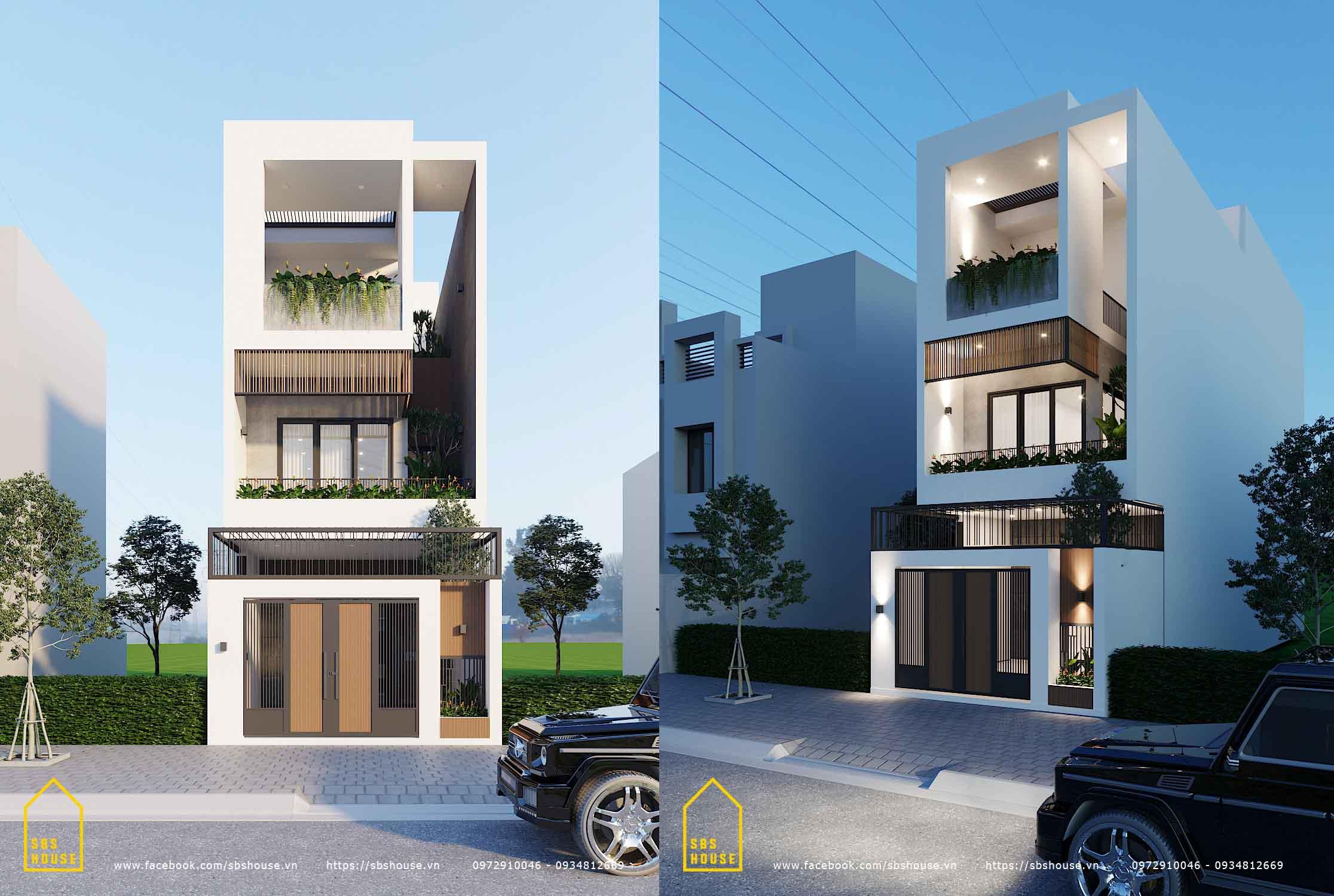 nhà 3 tầng đẹp