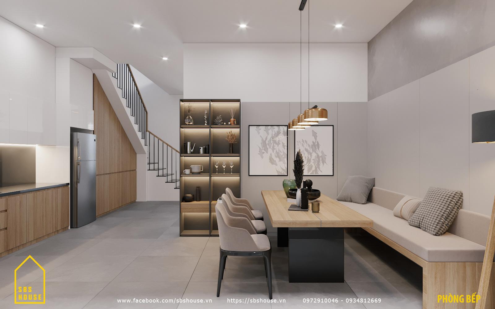 Mẫu phòng bếp đẹp và hiện đại