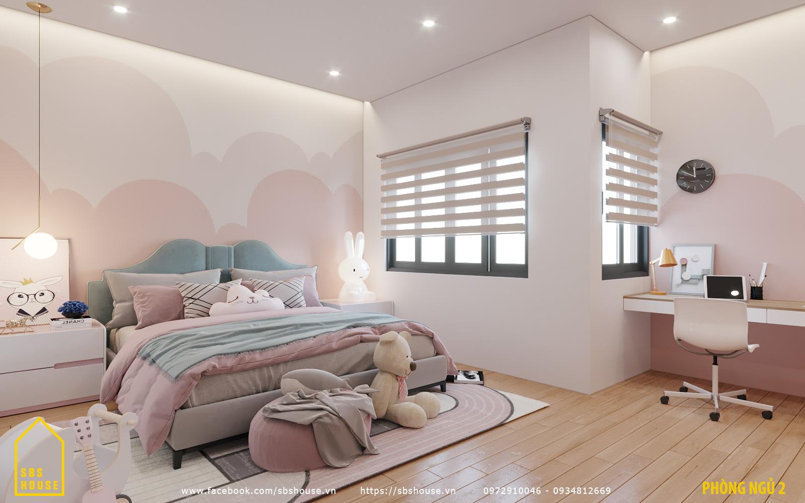 Phòng ngủ con đẹp