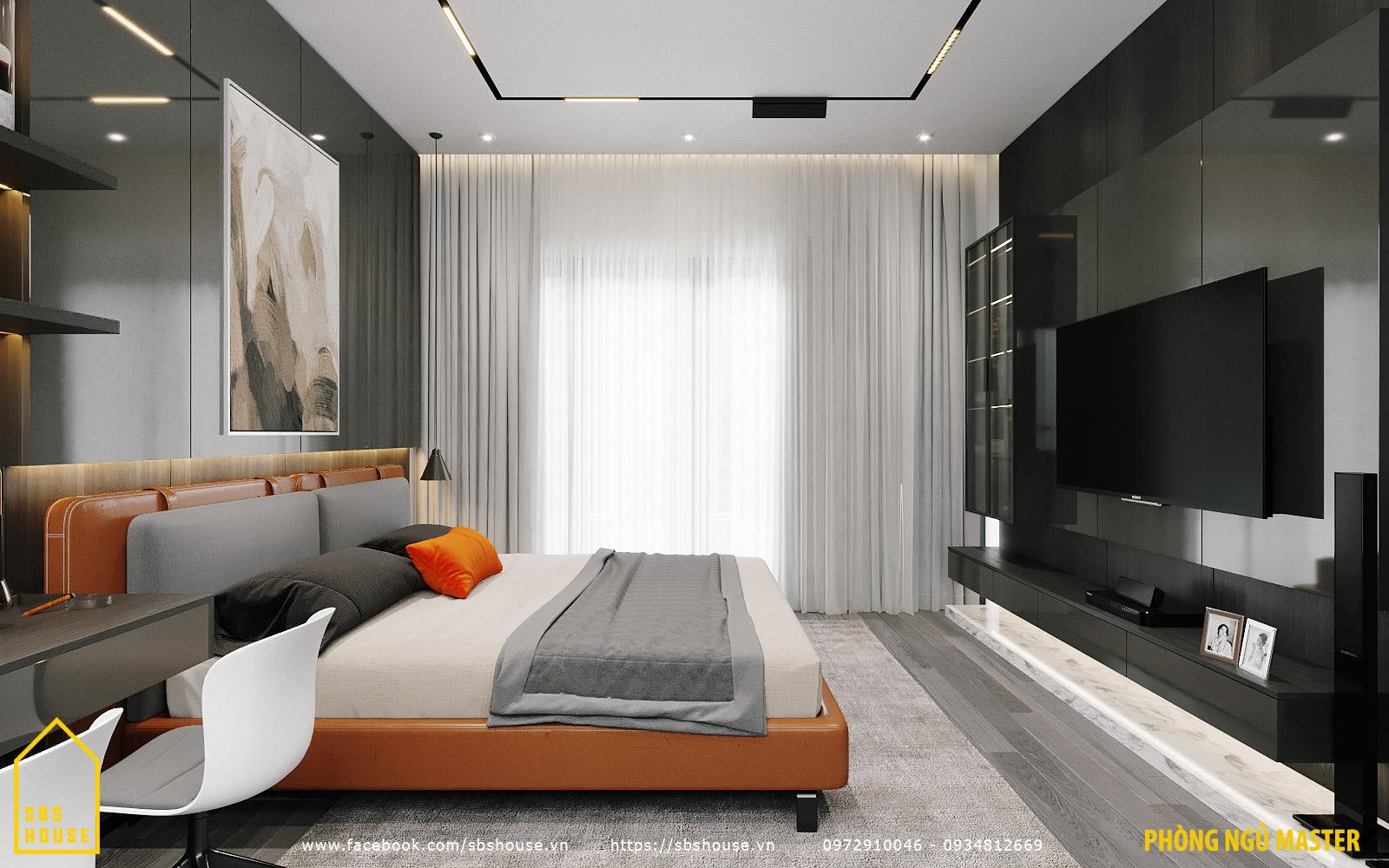 Mẫu phòng ngủ tràn ngập ánh sáng