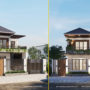 Nhà hai tầng mái thái hiện đại – xu hướng nhà ở được ưa chuộng 2021