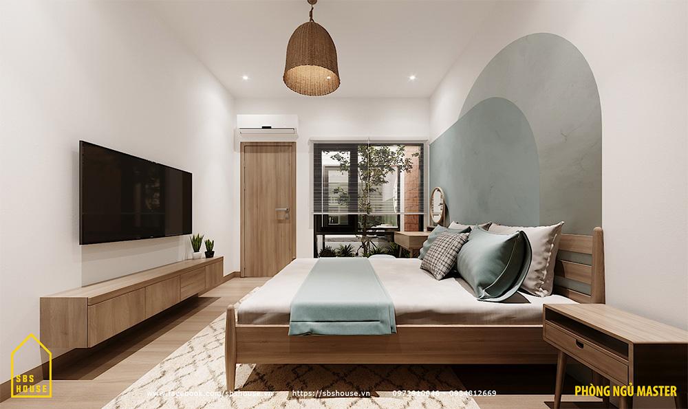 Phòng ngủ master đẹp.