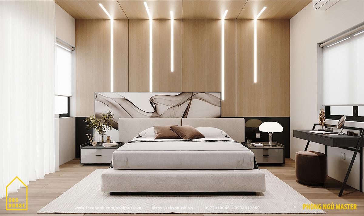 Trang trí phòng ngủ master đẹp