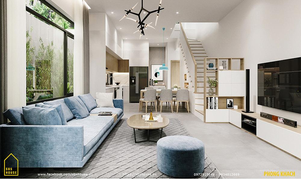 Phòng khách đẹp và hiện đại