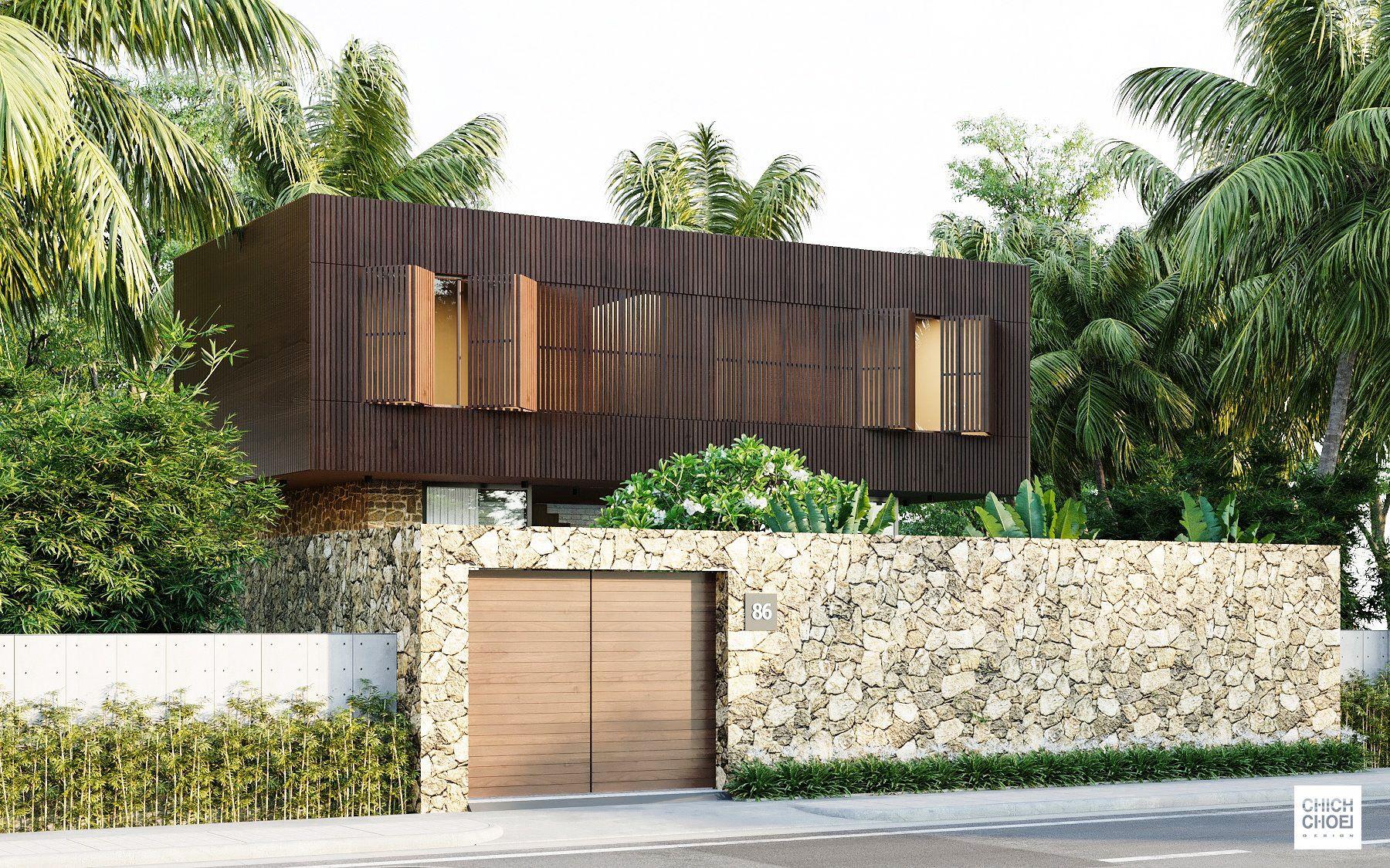 Phong cách kiến trúc mới lạ, độc đáo