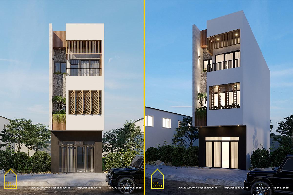 SBS HOUSE chuyên thiết kế thi công nhà ở