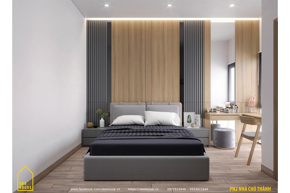 Phòng ngủ đẹp với nội thất sang trọng