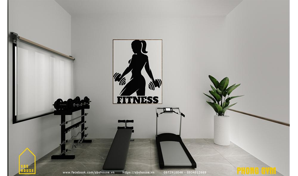 Phòng tập gym cho gia đình