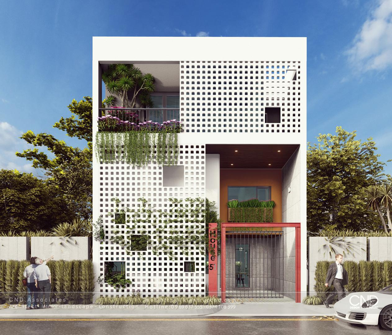 Công ty CND thiết kế nhà đẹp tại Vinh