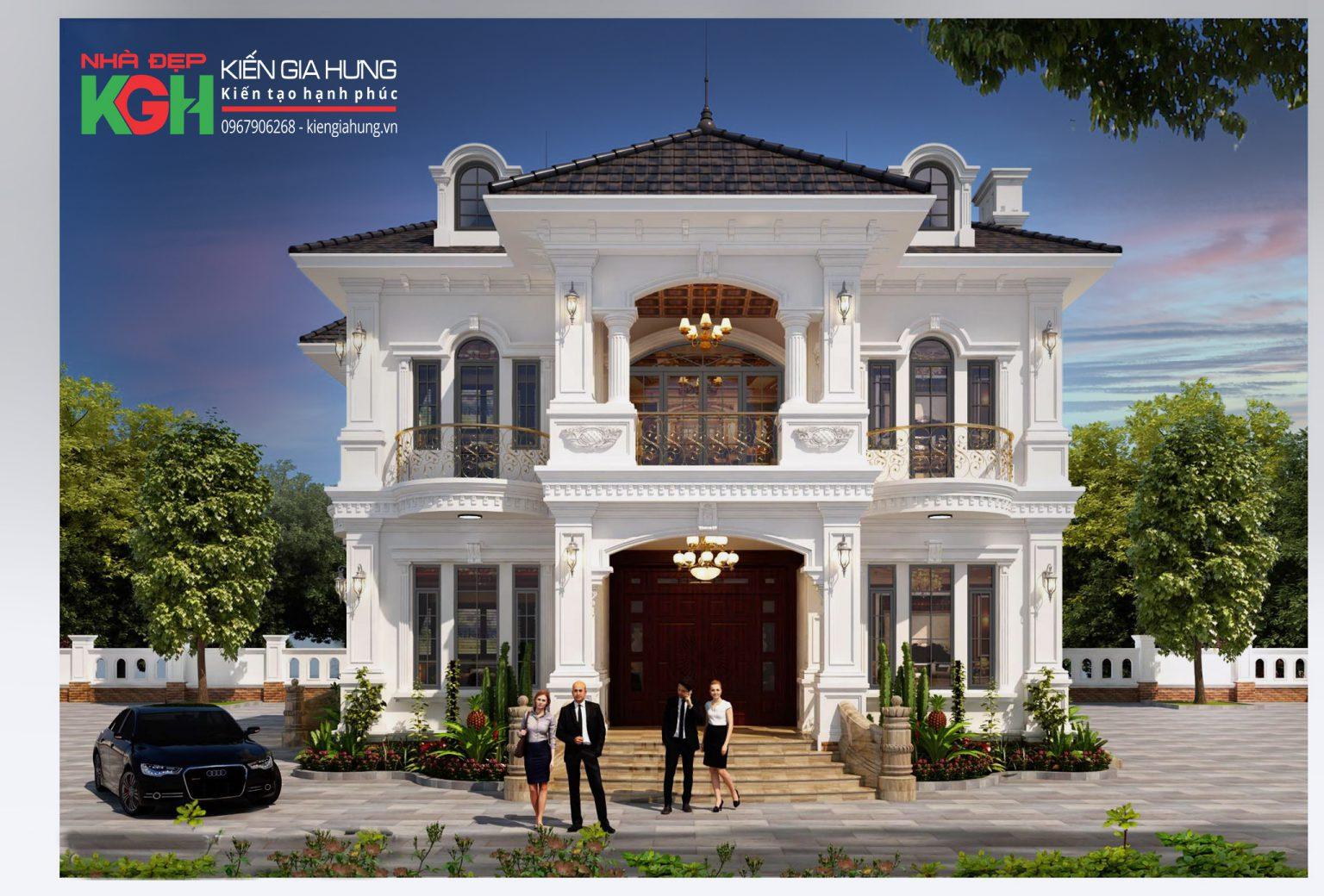 Biệt thự tân cổ điển được thiết kế bởi Kiến Gia Hưng