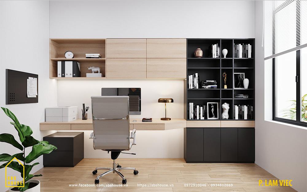 Phòng làm việc dành cho gia chủ
