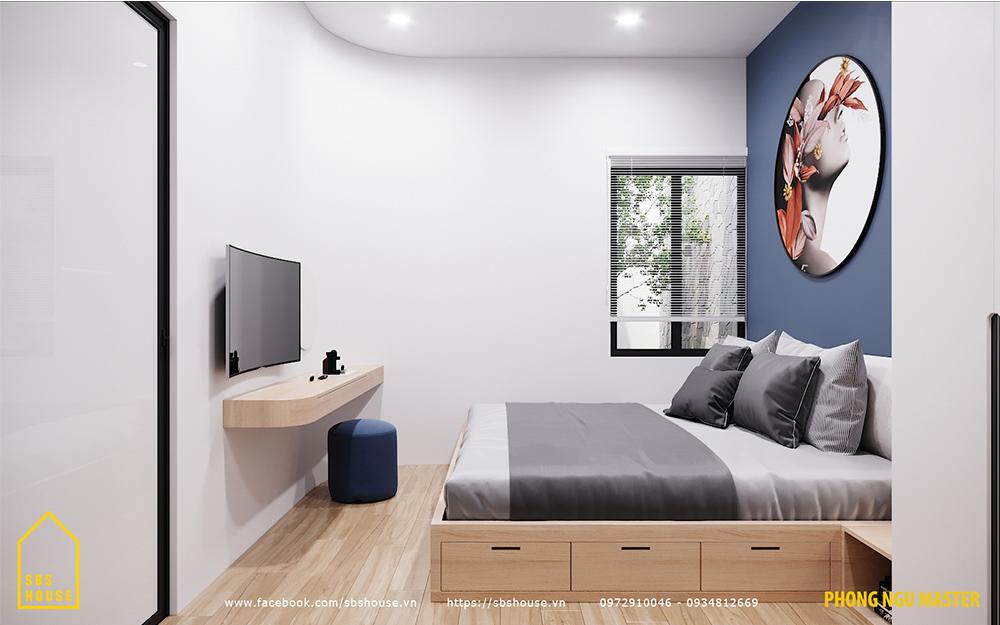 Phòng ngủ master cho vợ chồng