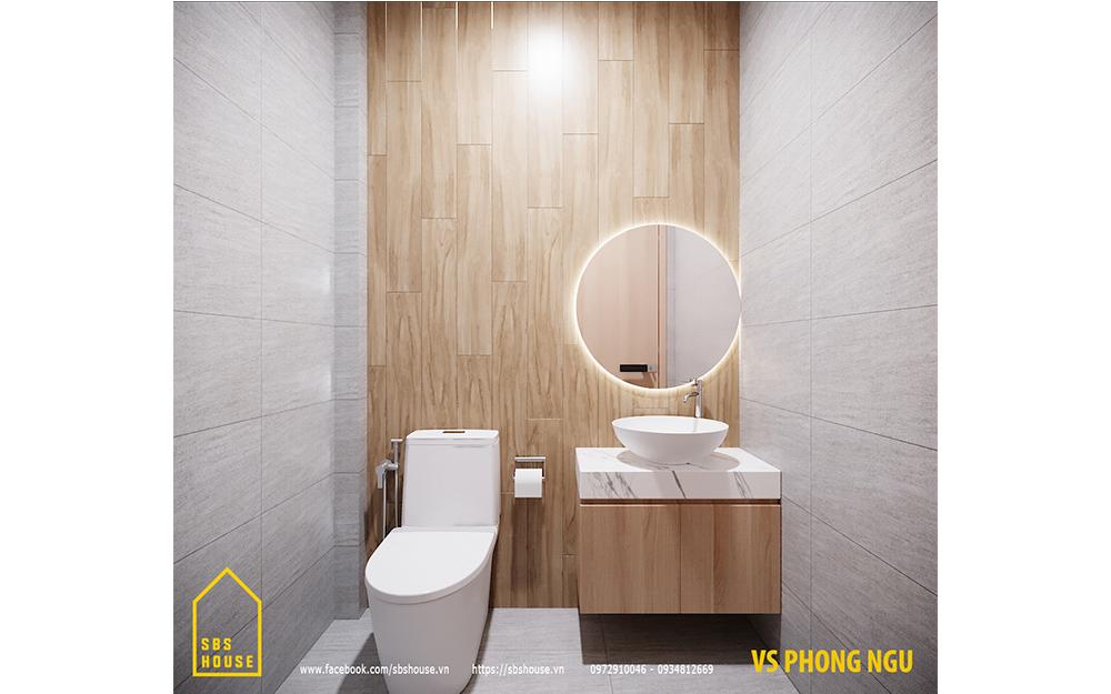Toilet bên trong phòng ngủ master